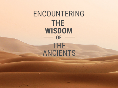 Encountering the wisdom of the ancients