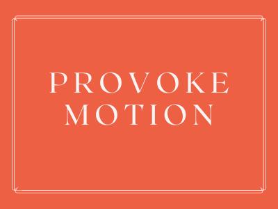 Provoke Motion