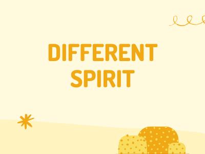 Different Spirit