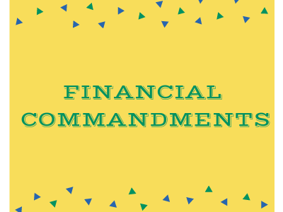 Financial Commandments