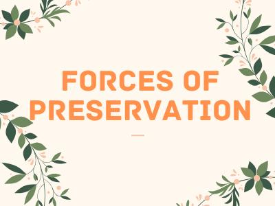 Forces Of Preservation