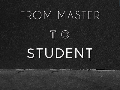 From Master To Student