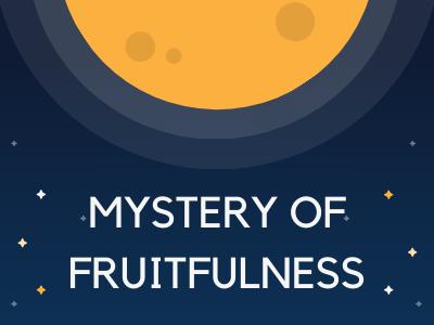 Mystery of fruitfulness